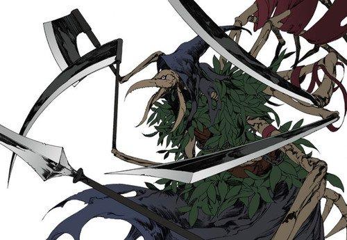 Fitcher, a fada de Ulfran. Com as suas seis lâminas, corta os seus inimigos.