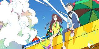 Anunciado filme anime Cider no you ni Kotoba ga Wakiagaru