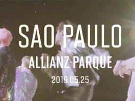 BTS no Brasil em Maio