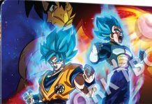 Blu-ray de Dragon Ball Super: Broly em Maio na Europa