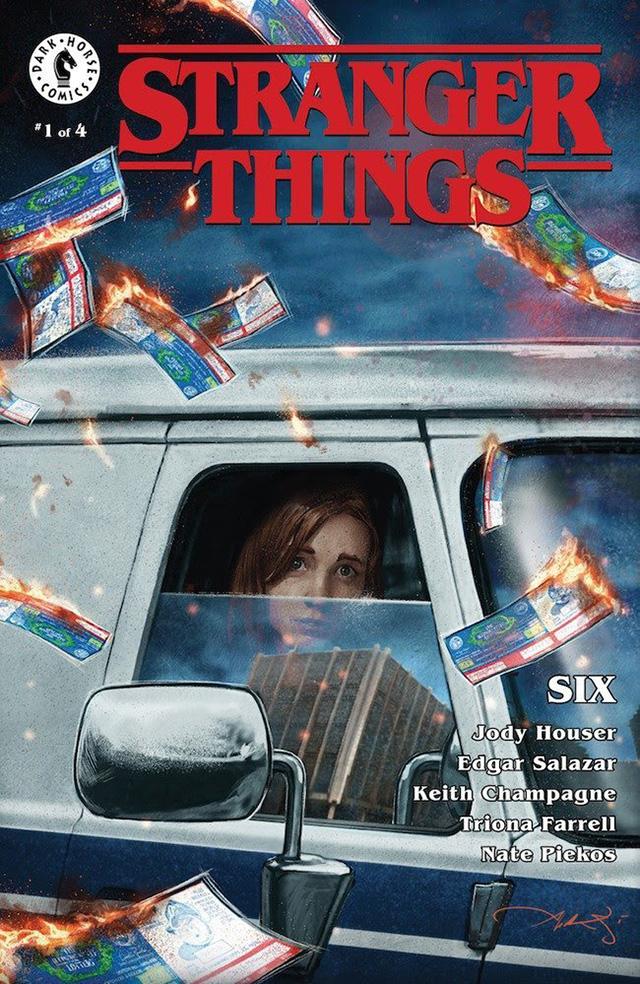 Comic de Stranger Things vai focar-se em SIX