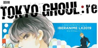 Devir vai lançar Tokyo Ghoul:re no IberAnime LX 2019