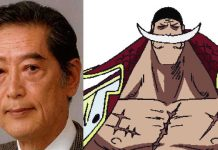 Faleceu Kinryuu Arimoto, Whitebeard de One Piece