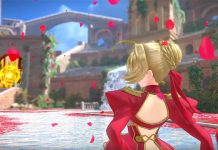Fate/Extella Link – Gameplay de Nero Claudius, Tamamo no Mae, Nameless
