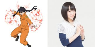 Fire Force anuncia Aoi Yuuki como Tamaki Kotatsu
