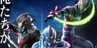 Imagem promocional do anime de Ultraman