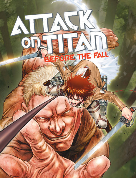 Mangá de Attack on Titan: Before the Fall vai terminar