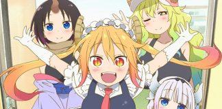 Miss Kobayashi's Dragon Maid vai ter 2ª temporada