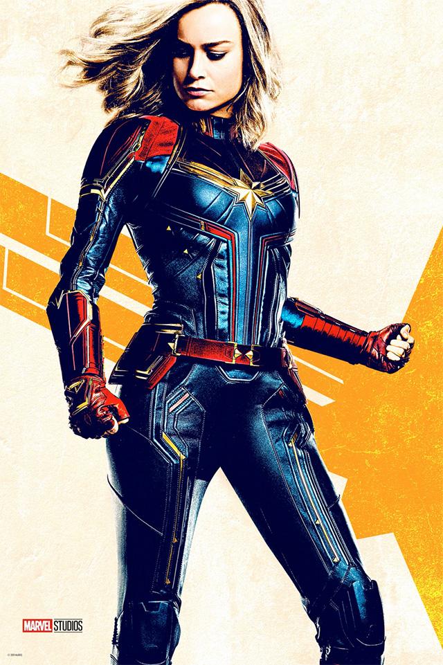 Novos Posters de Captain Marvel