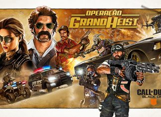 Operation Grand Heist chega hoje a Call of Duty: Black Ops 4