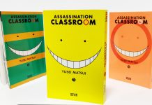 Passatempo: 1º volume de Assassination Classroom