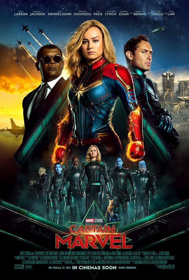 Poster internacional de Captain Marvel