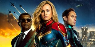 Poster internacional de Captain Marvel