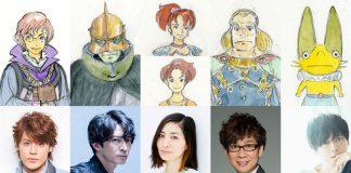 Revelado elenco do filme anime de Ni no Kuni