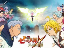 Trailer da historia do RPG de The Seven Deadly Sins