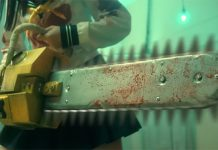 Trailers de Chimamire Sukeban Chainsaw RED