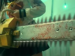 Trailers de Chimamire Sukeban Chainsaw RED