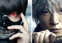 Live action de Gintama e Tokyo Ghoul chegam ao Brasil pela Looke