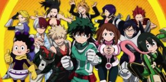 My Hero Academia nas Filipinas a 7 de Abril