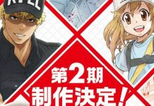 Anunciada a segunda temporada de Cells at Work