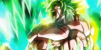 Cortaram 70 minutos de Dragon Ball Super: Broly