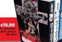 Devir vai lançar Pack com os três primeiros volumes de Death Note