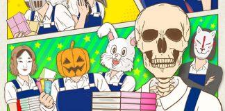 Mangá Skull-face Bookseller Honda-san chega ao fim