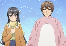 Imagem promocional do filme de Seishun Buta Yarou