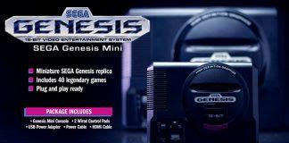 Mega Drive Mini em Setembro