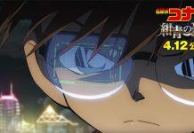Novo trailer de Detective Conan: Fist of Blue Sapphire