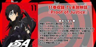 OAD de Persona 5 the Animation em Maio