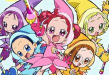 Visual e trailer de anuncio do novo filme de Ojamajo Doremi
