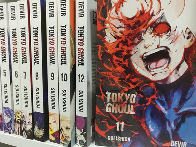 Tokyo Ghoul pela Devir