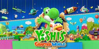 Trailer de lançamento de Yoshi's Crafted World