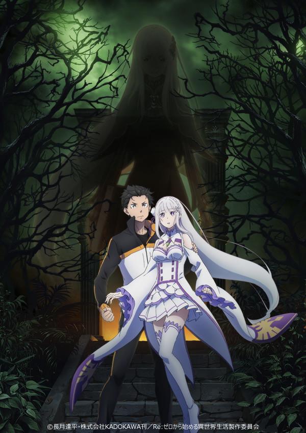 Segunda temporada de Re:Zero anunciada