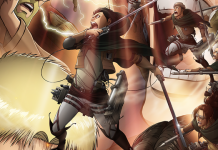 Attack on Titan 3 pela Crunchyroll