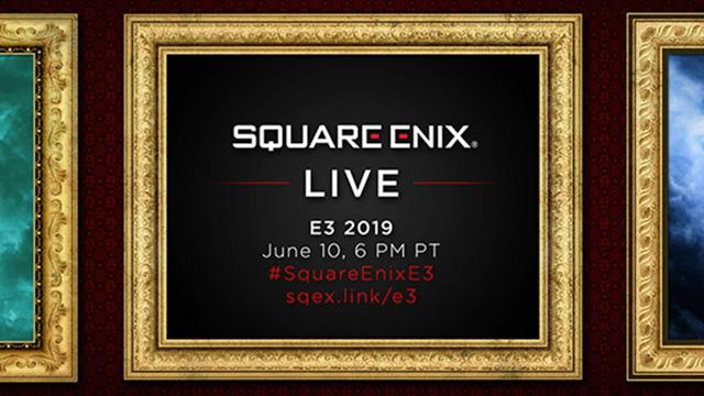 Conferência da Square Enix na E3 2019 a 10 de junho