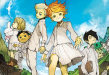 Esta é a capa portuguesa de The Promised Neverland