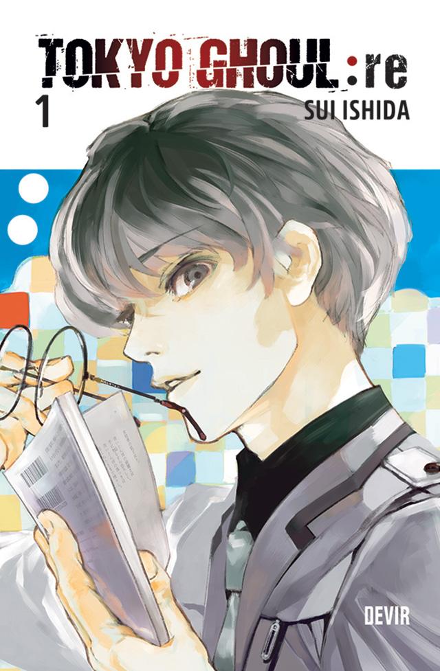 Esta é a capa portuguesa de Tokyo Ghoul:re