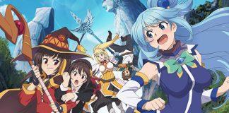 Filme anime de KonoSuba a 30 de Agosto