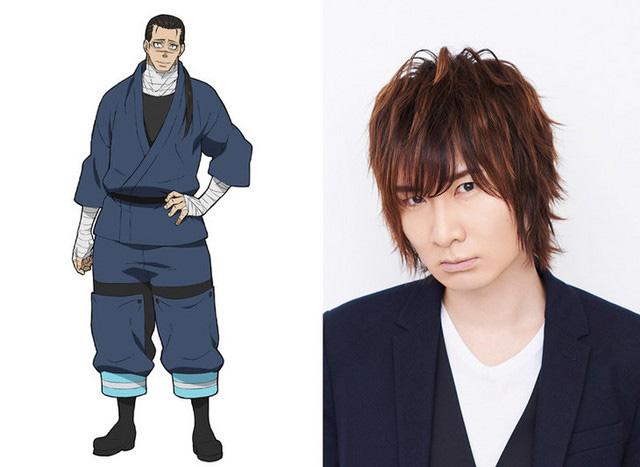 Fire Force anuncia Tomoaki Maeno como Konro Sagamiya