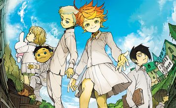 Ganha o 1º volume de The Promised Neverland pela Editora Devir