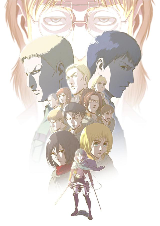 Imagem promocional do regresso de Attack on Titan 3