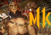 Mortal Kombat 11 mostra Shao Khan
