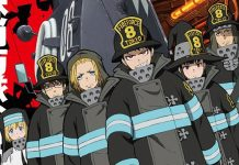 Novo Poster de Fire Force