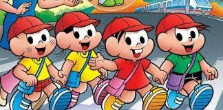 Turma da Mônica terá revista sobre para preparar crianças para estudar no Japão