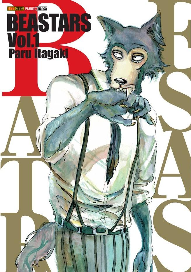 Revelada a capa brasileira de BEASTARS