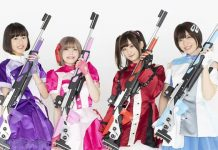Rifling 4 são as seiyuu de Rifle Is Beautiful