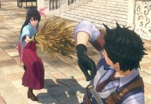 Screenshots do novo Sakura Wars