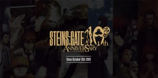 Steins;Gate tem 10 projetos em produção